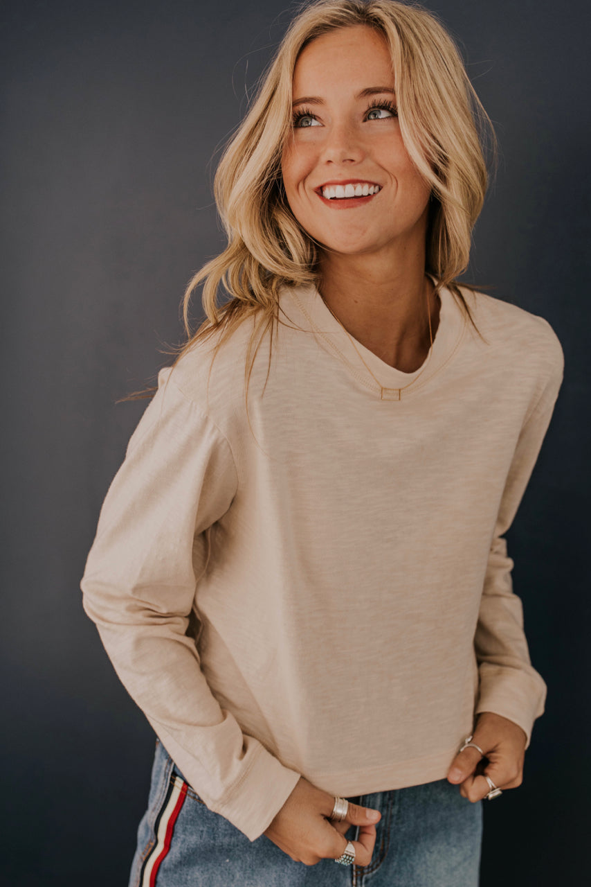 Long Sleeve Tee Outfit | ROOLEE