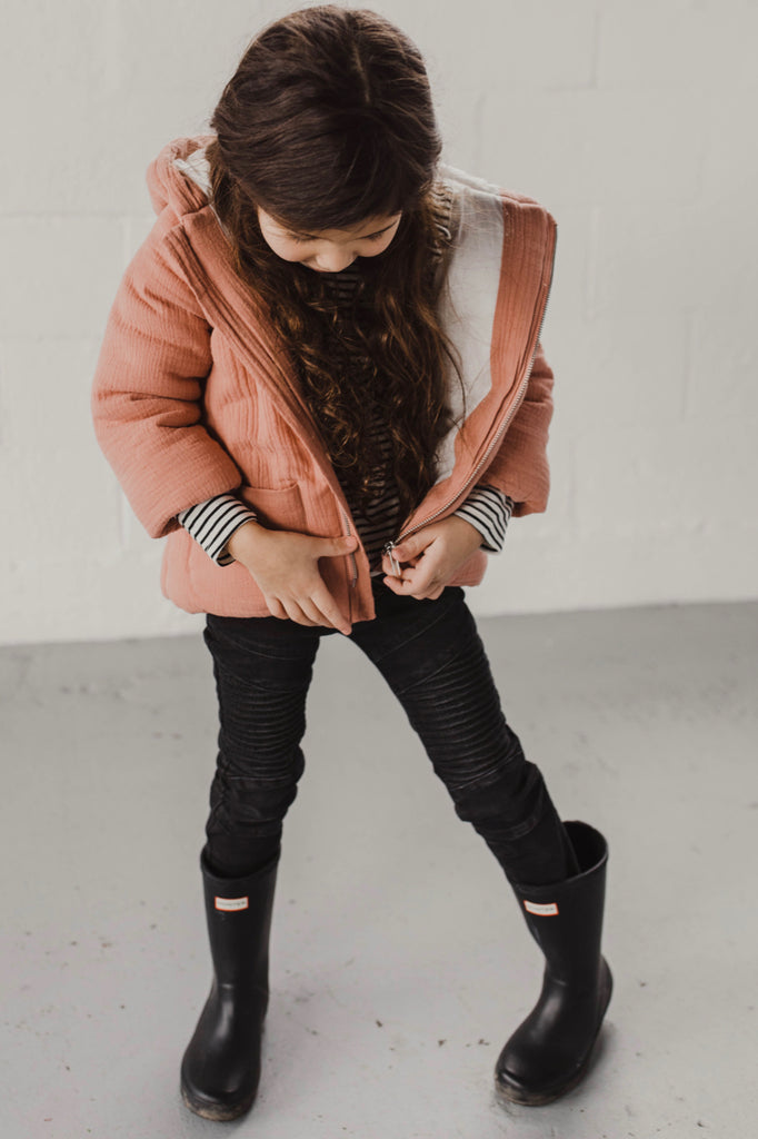 Hooded Kids Jacket | ROOLEE