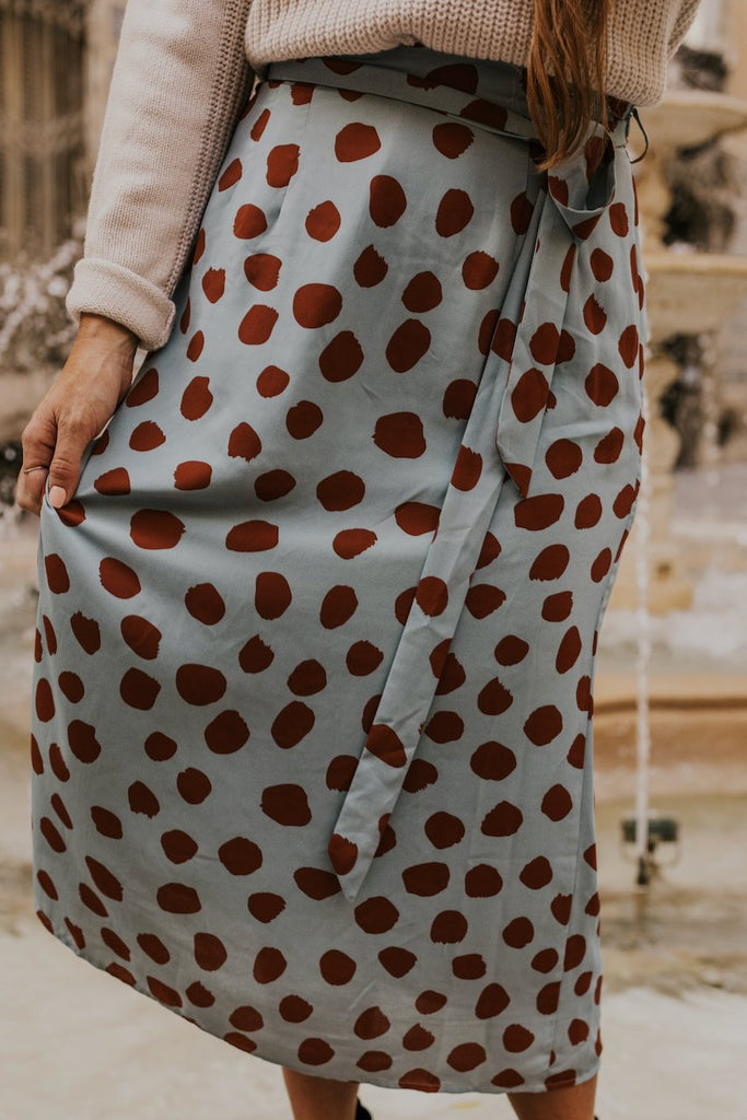 Fun and Bright Midi Skirts | ROOLEE