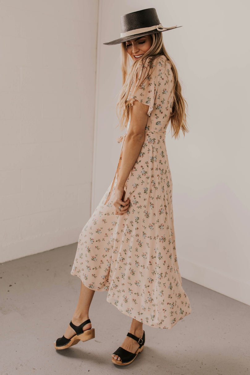 Flowy Floral Maxi Dress | ROOLEE