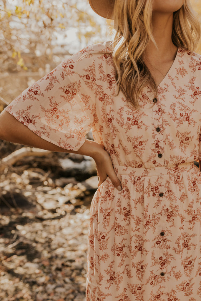 Next Chapter Floral Midi