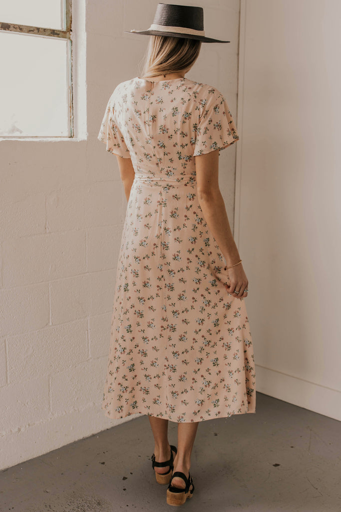 Long Floral Dress | ROOLEE