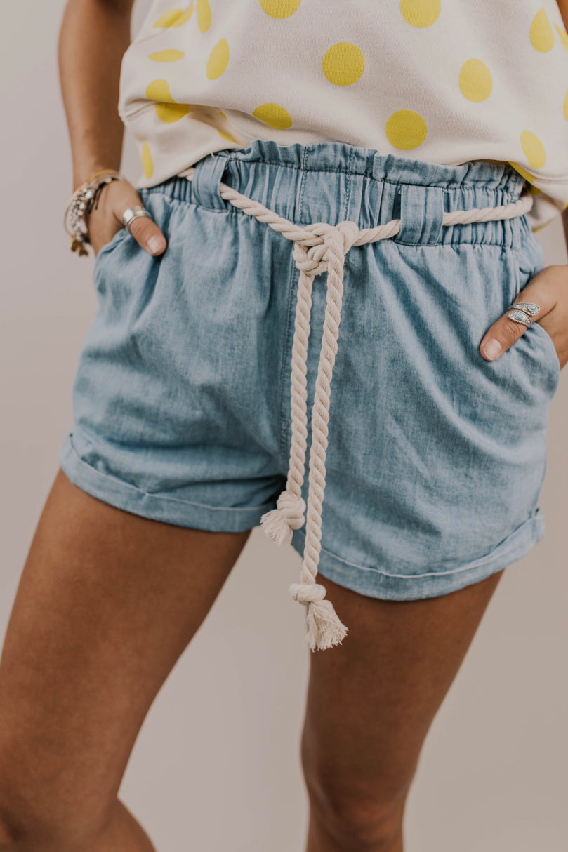 Denim Short | ROOLEE
