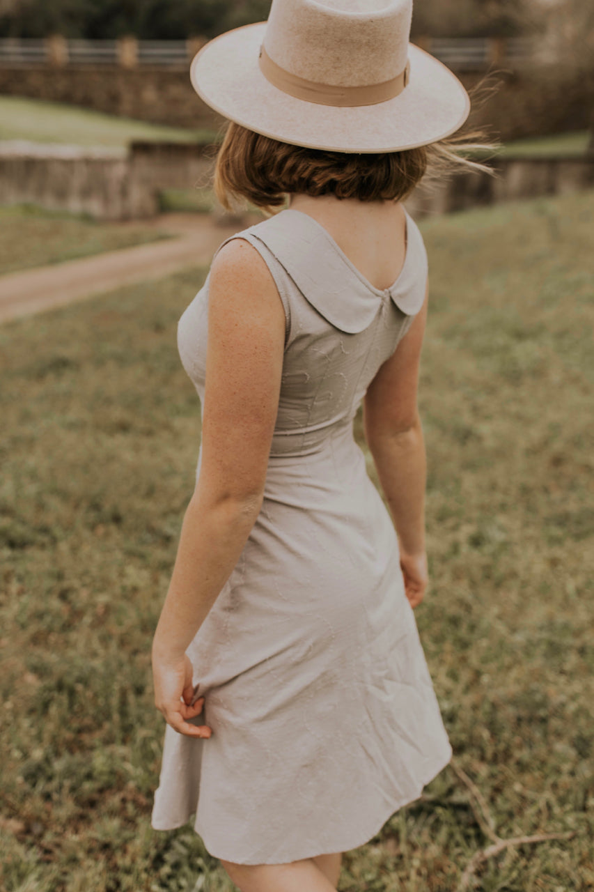 Peter Pan Collar Dress | ROOLEE