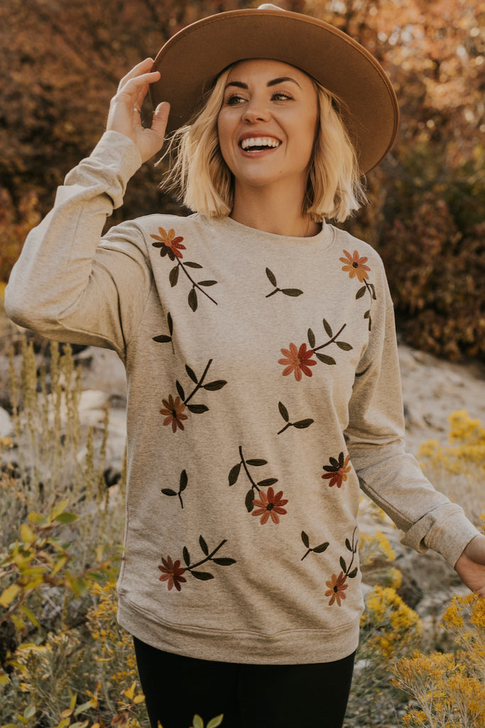 Flower Pullover | ROOLEE