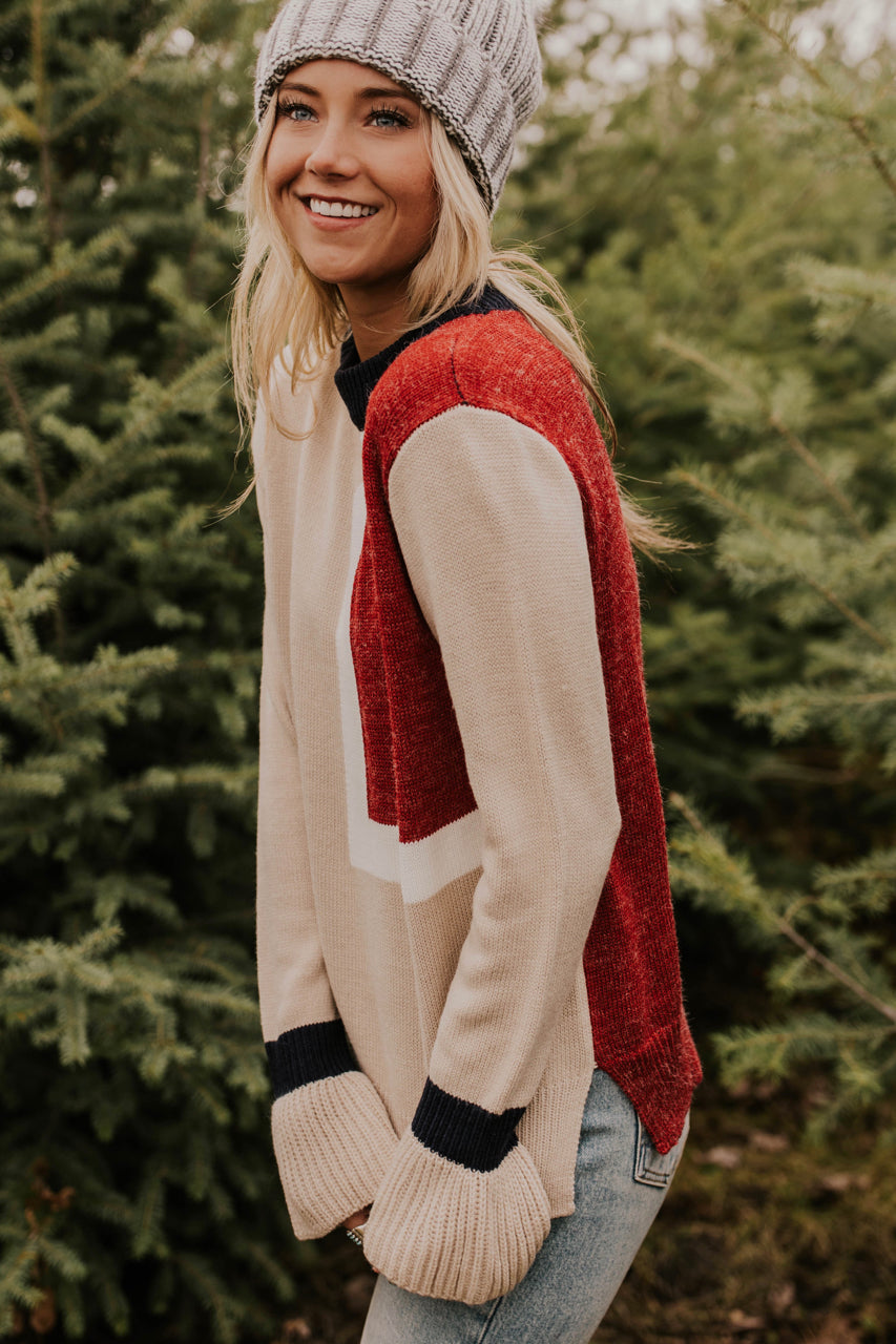 Colorblock Sweater Ideas | ROOLEE