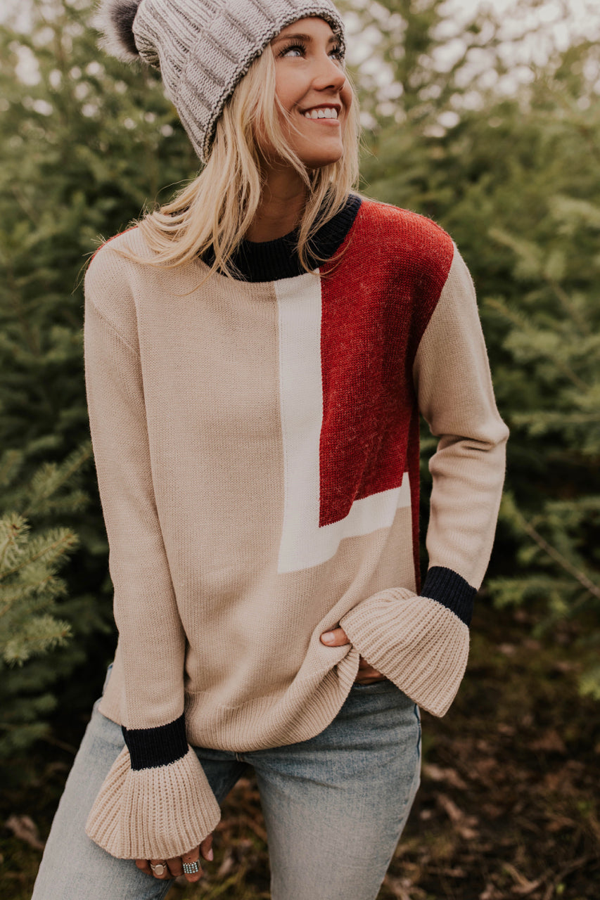Payette Colorblock Sweater | ROOLEE Sweaters