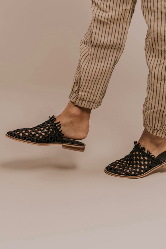 Woven Flats | ROOLEE