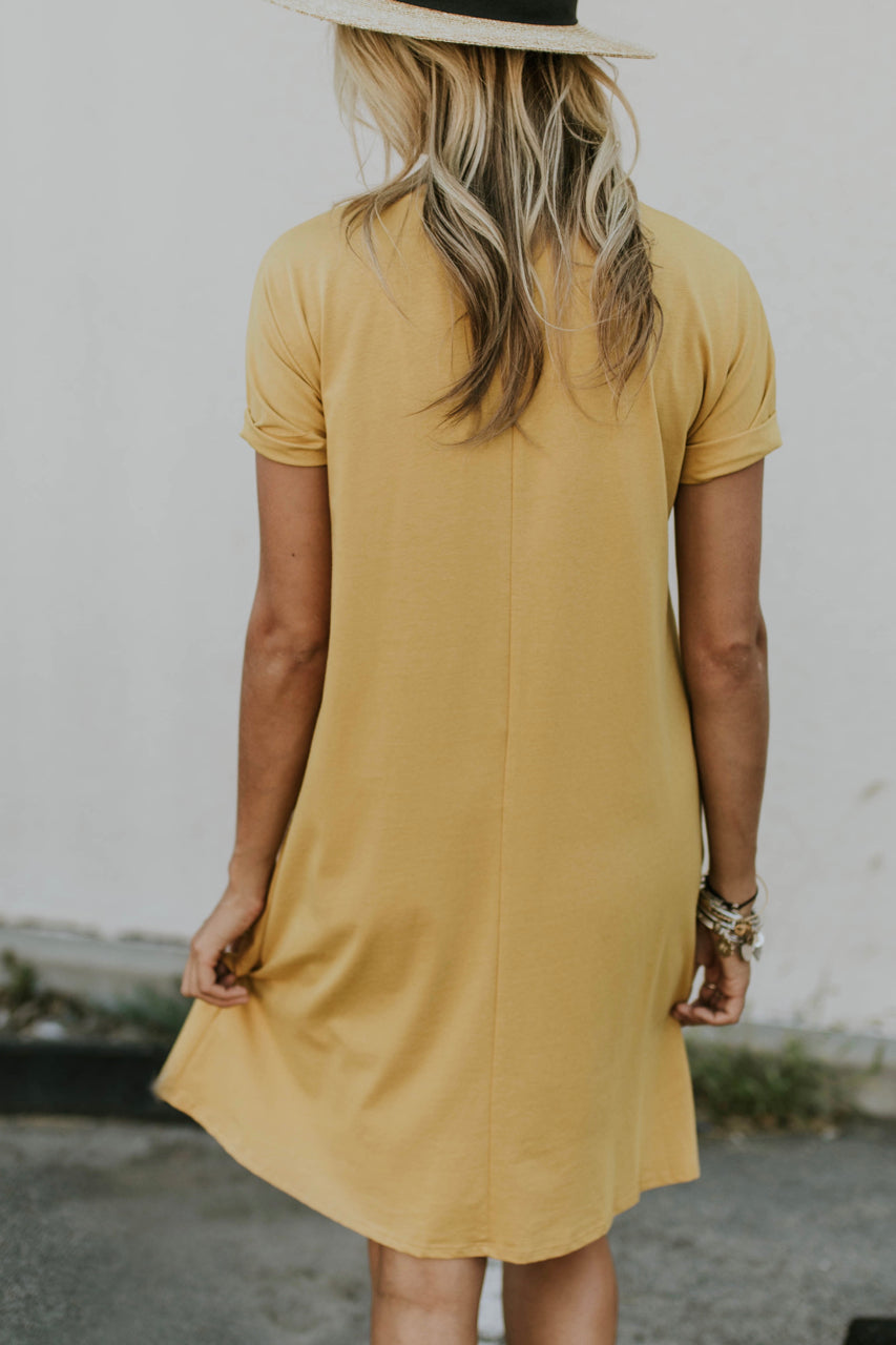 Yellow Easy Dress | ROOLEE