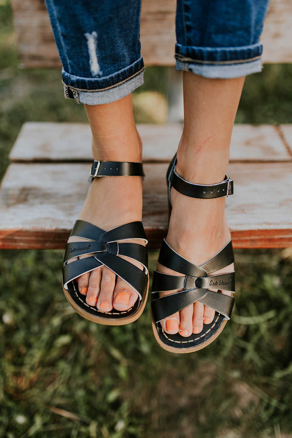 e8f05d88d36f Summer Sandals - Leather Strap Sandals