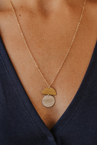 Two Tone Necklace | ROOLEE