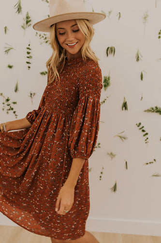 Byers Floral Dress