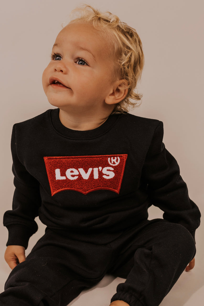 Black Levi's Sweat Set | ROOLEE