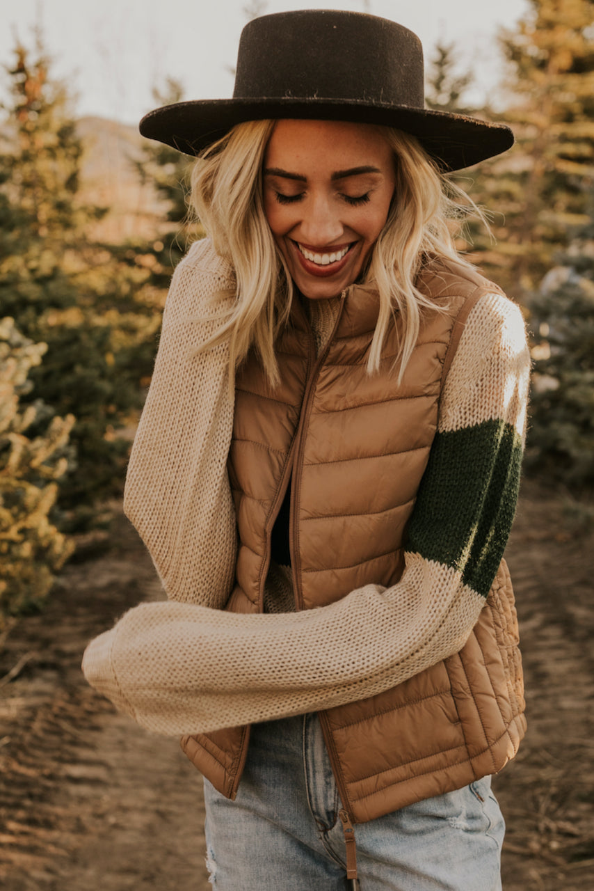 Puffy Winter Vest | ROOLEE