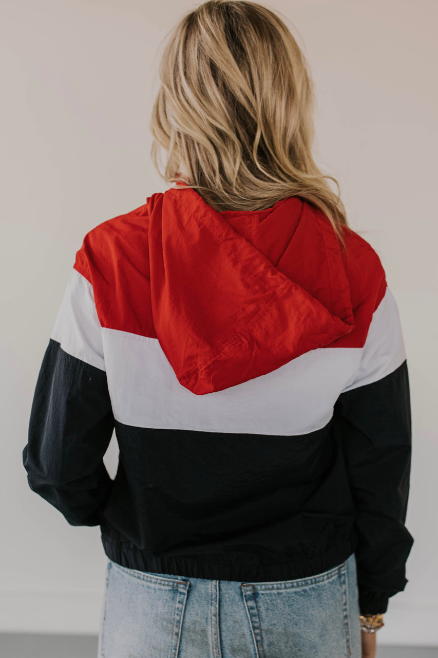Colorblock Jacket Outfit | ROOLEE