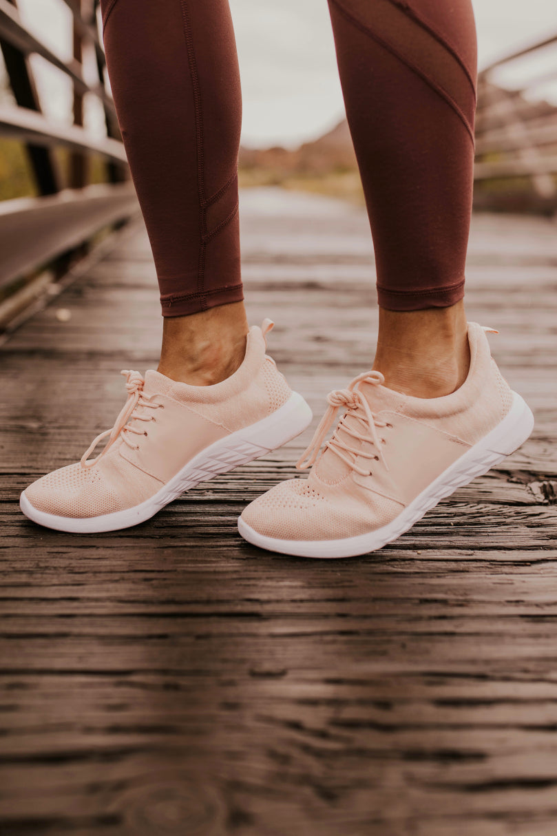 Pink Gym Shoes for Women | ROOLEE