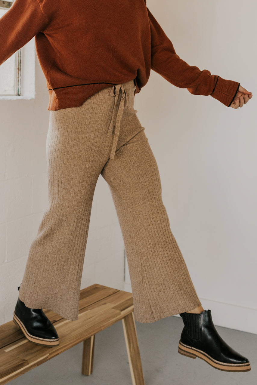 Casual Knit Pants | ROOLEE