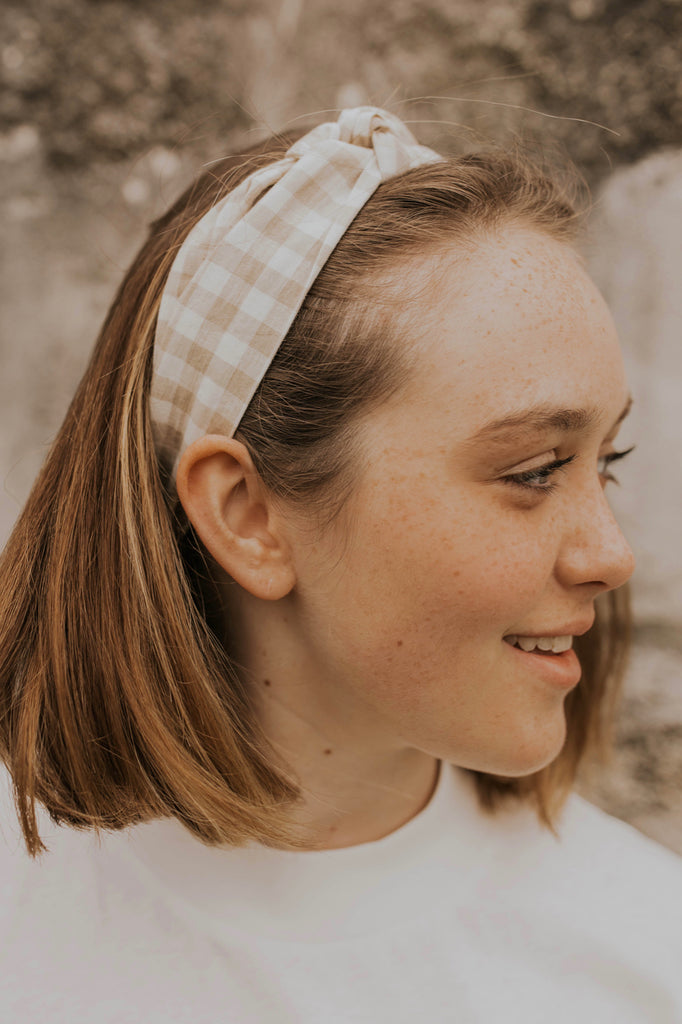 Gingham Hair Accessories | ROOLEE