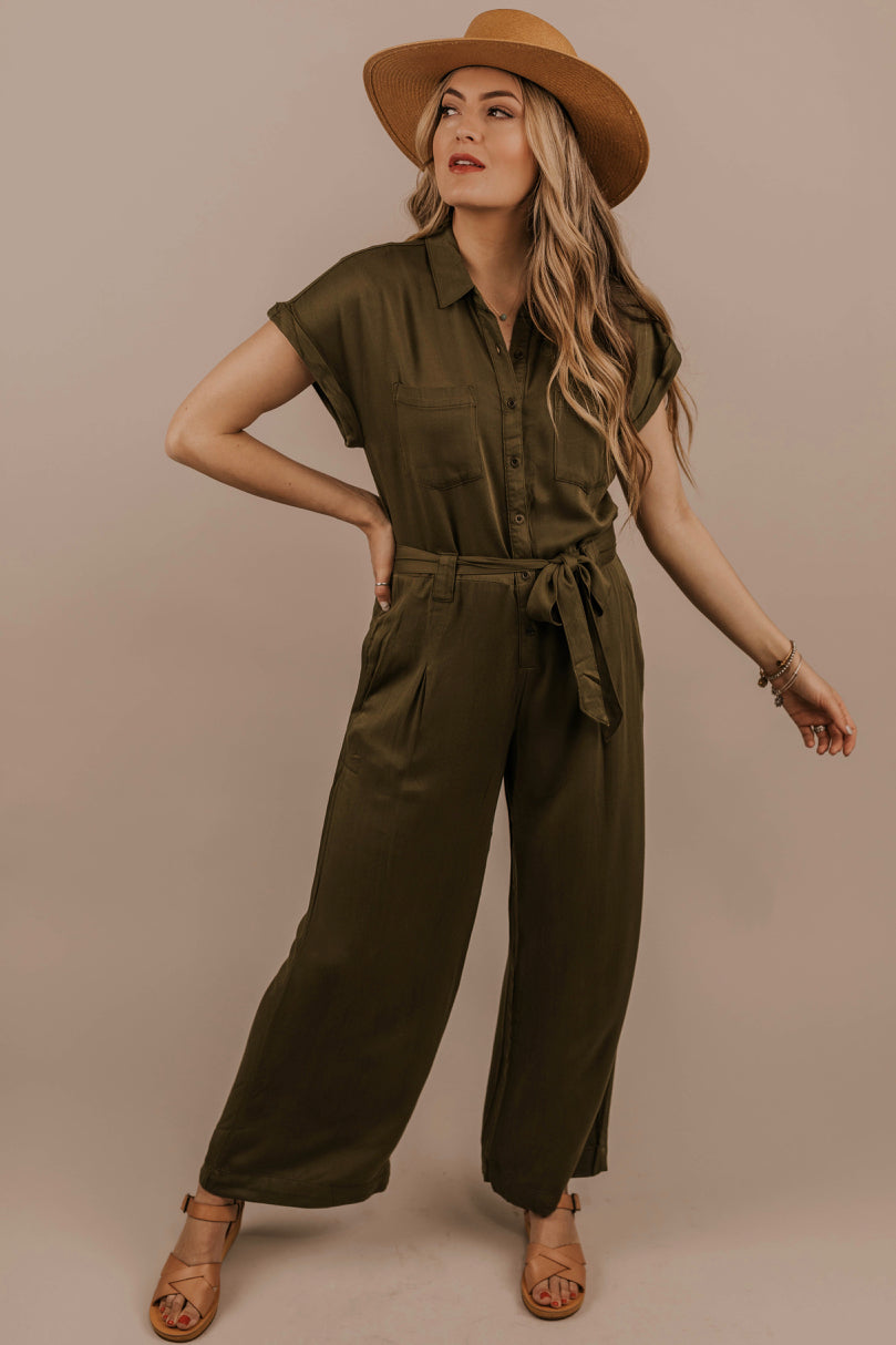 Collared Jumpsuit | ROOLEE