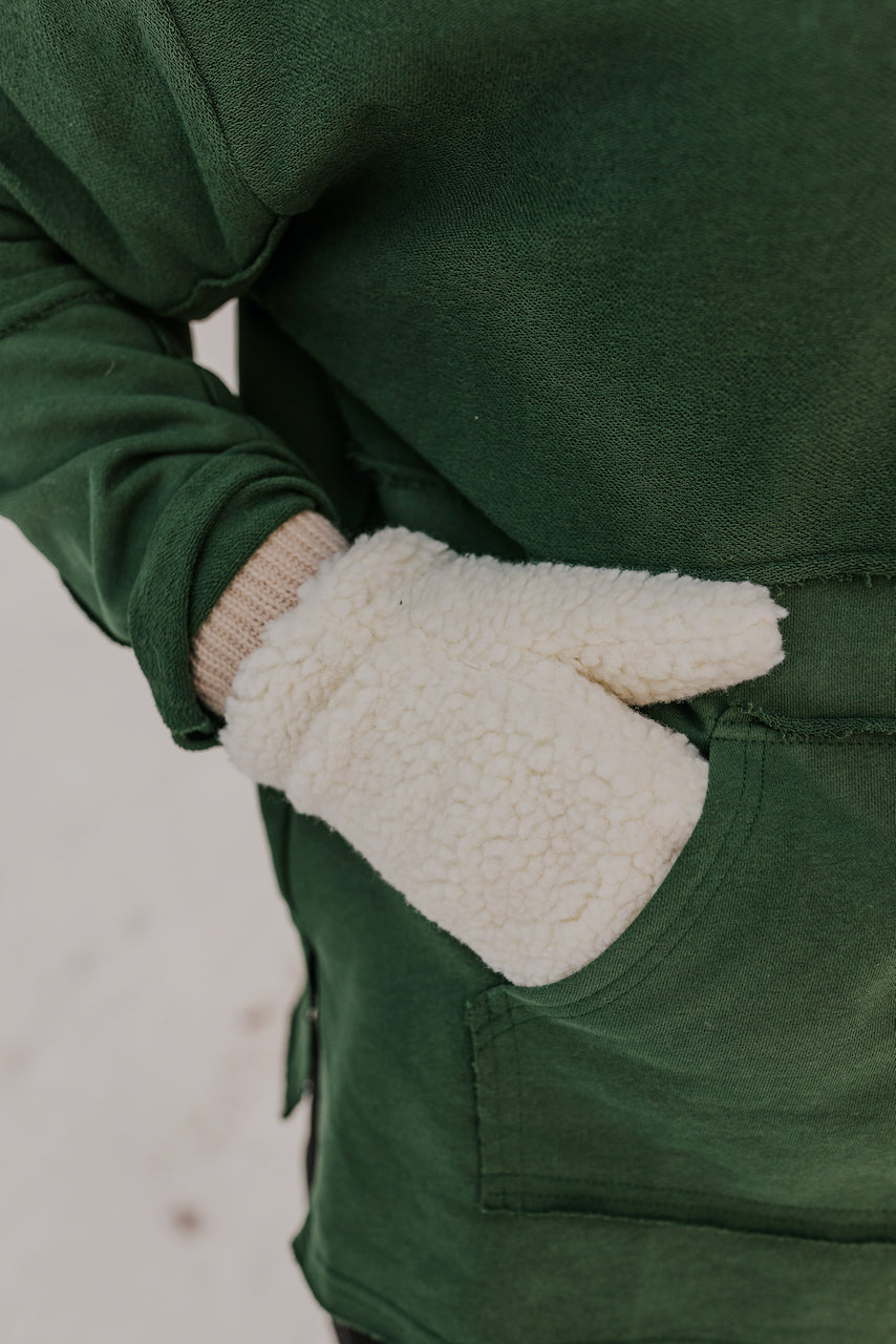 Sherpa Fuzzy Mittens | ROOLEE