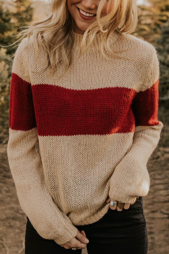Wisconsin Knit Sweater