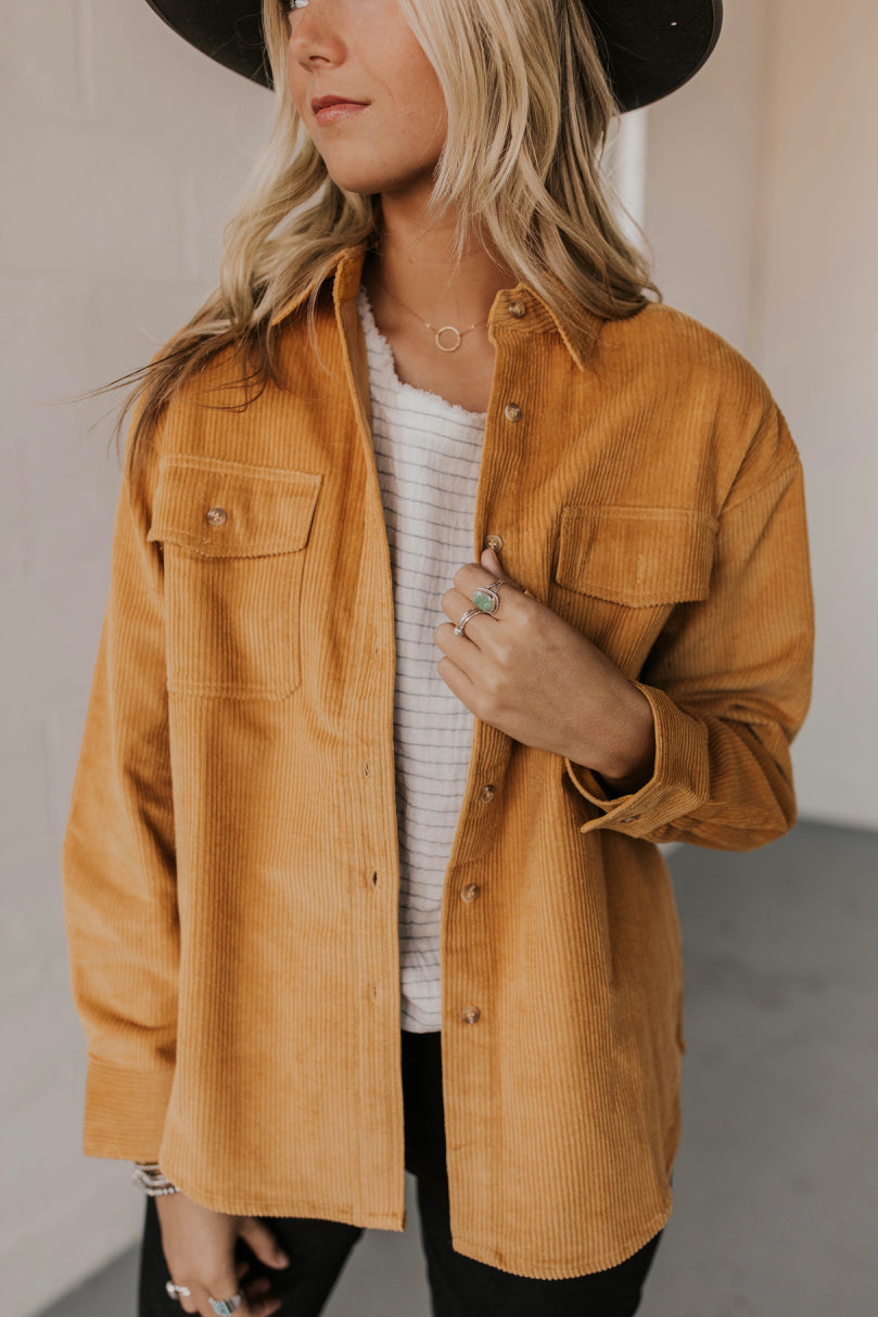Corduroy Jacket Outfit | ROOLEE