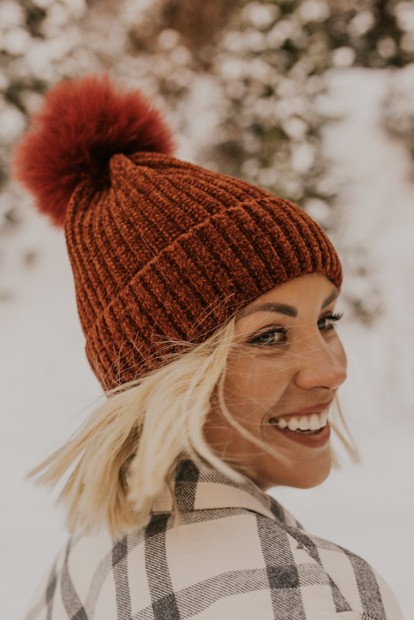 Knit Pom Beanie | ROOLEE