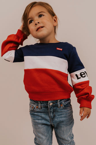 Tri Color Sweatshirt | ROOLEE