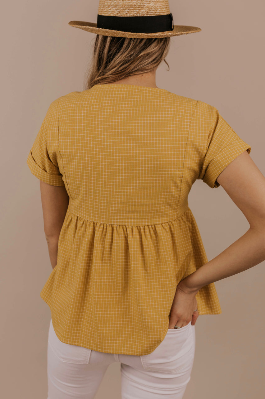 Mustard Top Outfit | ROOLEE