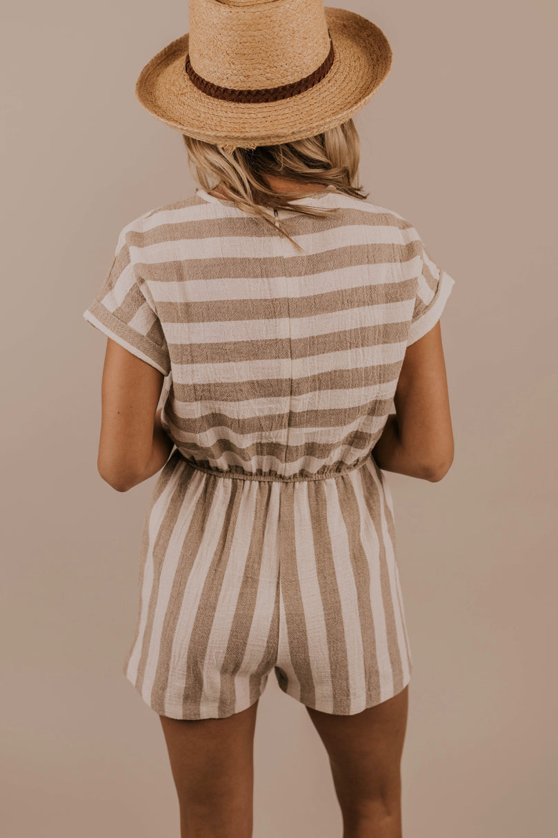 Striped Romper | ROOLEE