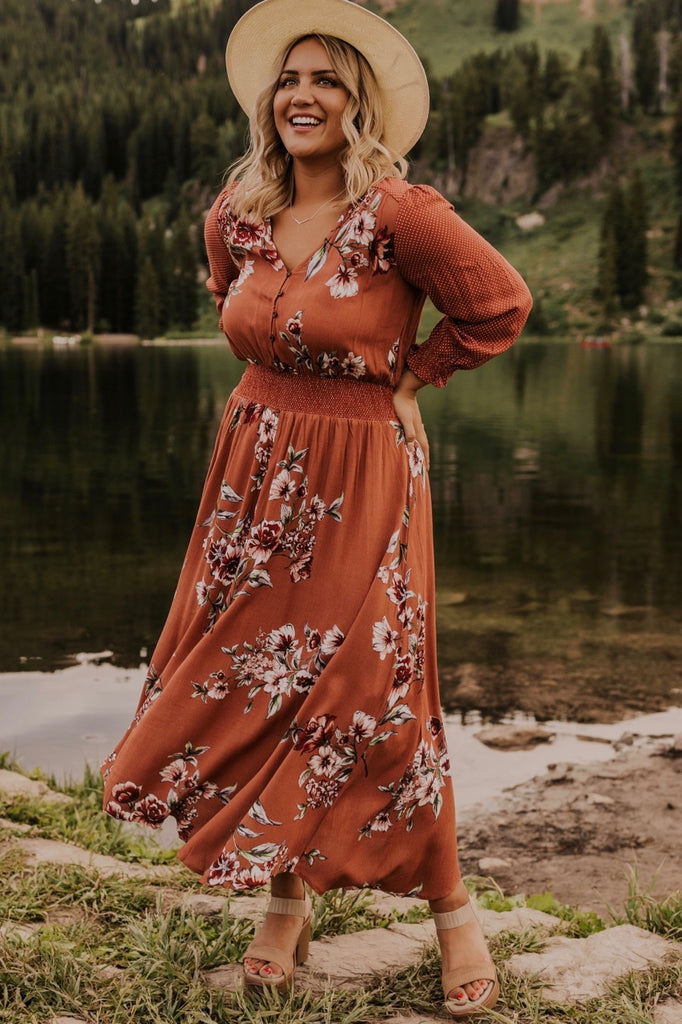 Long Sleeve Maxi Dress | ROOLEE