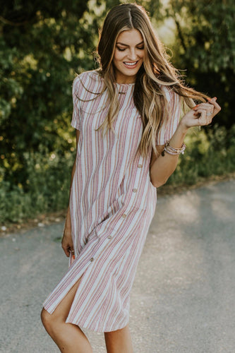 Mesa Stripe Dress | ROOLEE