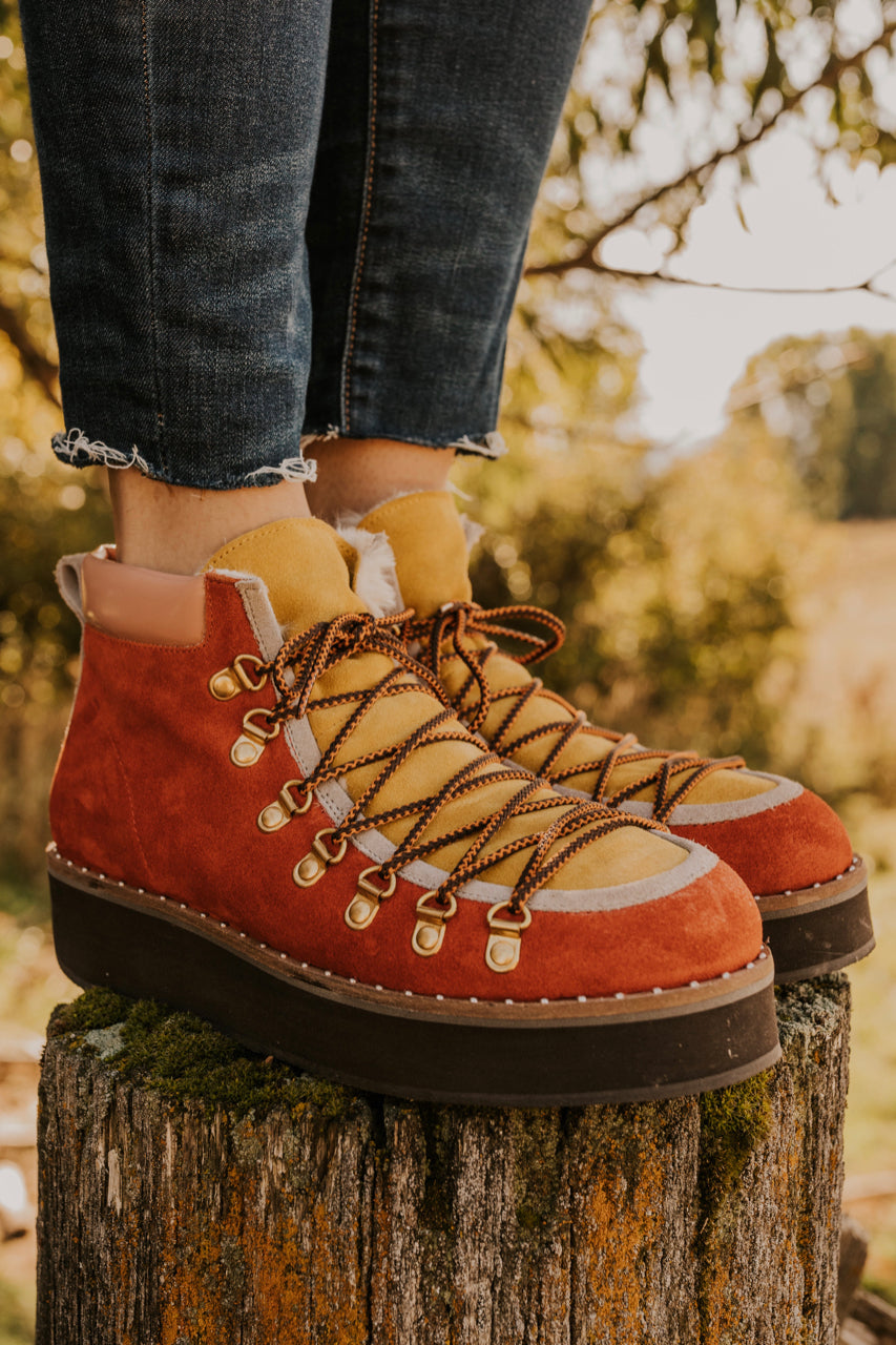 Free People Durango Suede Hiker Boot