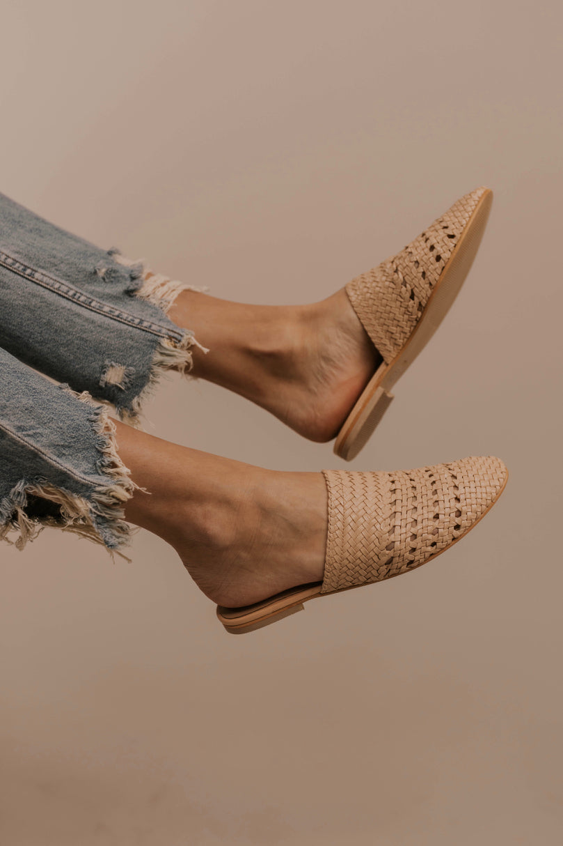 Woven Mules | ROOLEE