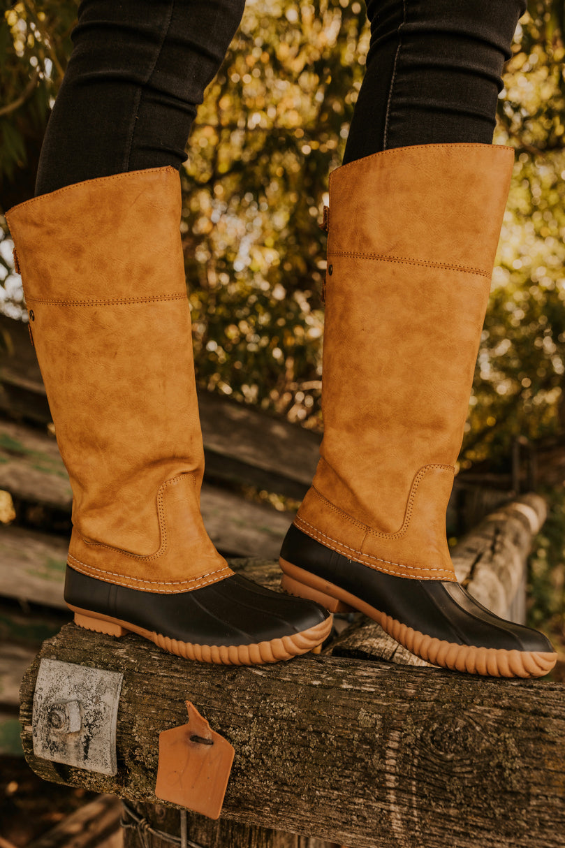 Duck Boots for Fall | ROOLEE