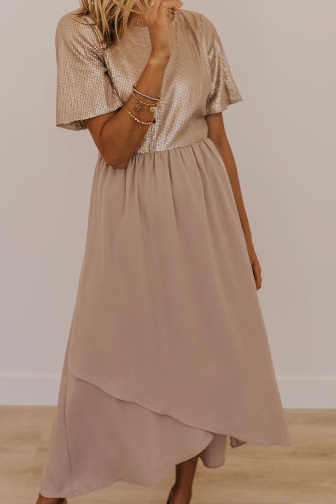 High Low Maxi Dress | ROOLEE