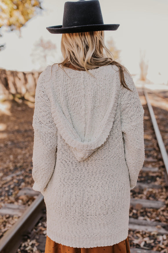 Hooded Cardigan | ROOLEE Outerwear