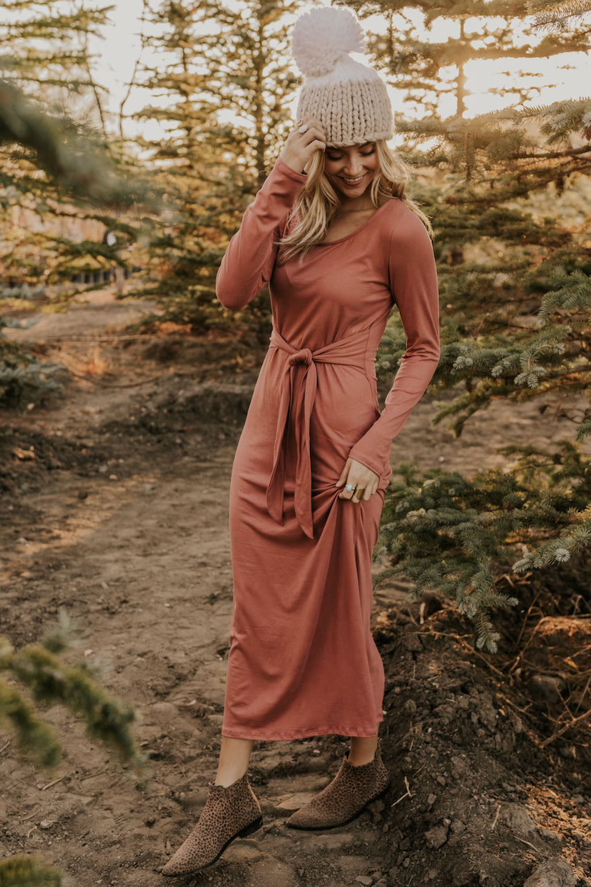 Mauve Maxi Dress | ROOLEE