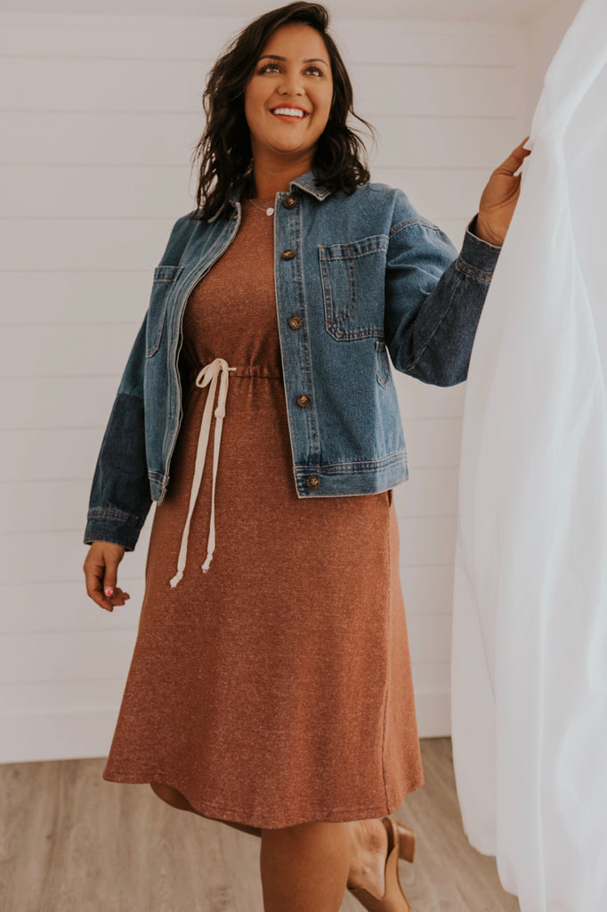 Drawstring Dress | ROOLEE