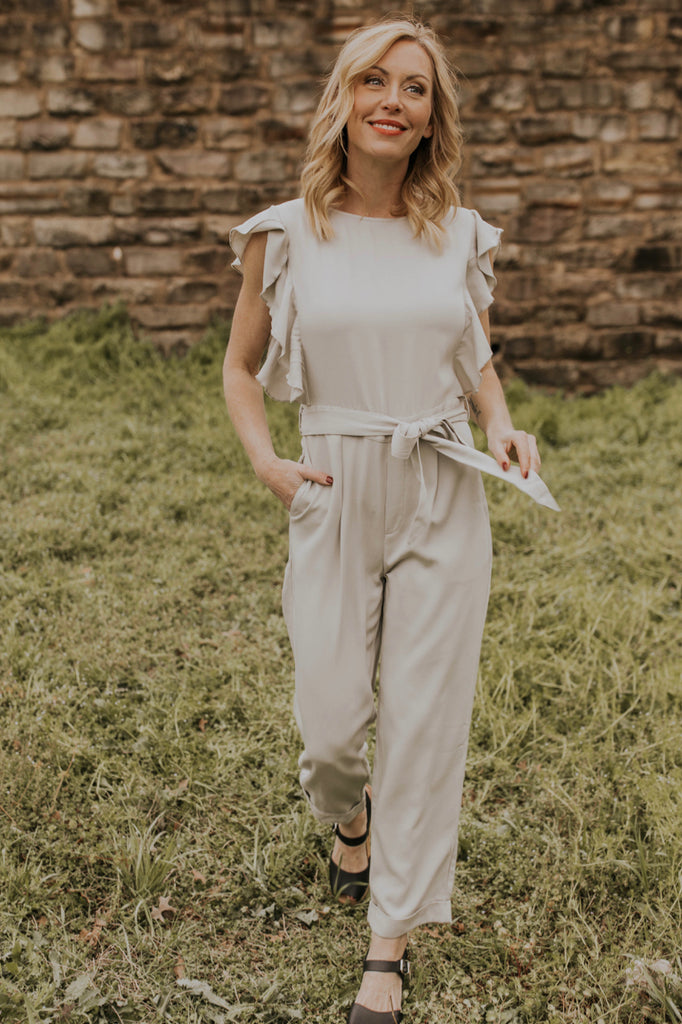 Butterfly Sleeve Jumpsuit | ROOLEE