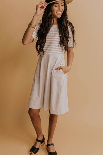 Stafford Stripe MOM Dress