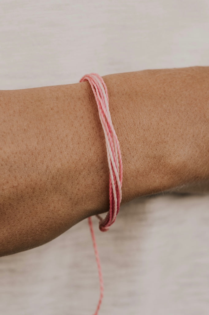 Pura Vida Breast Cancer Awareness Bracelet | ROOLEE