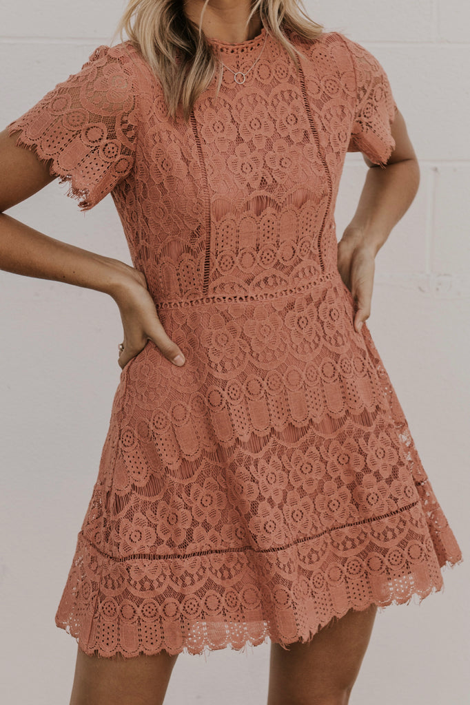 Lace Skater Dress | ROOLEE