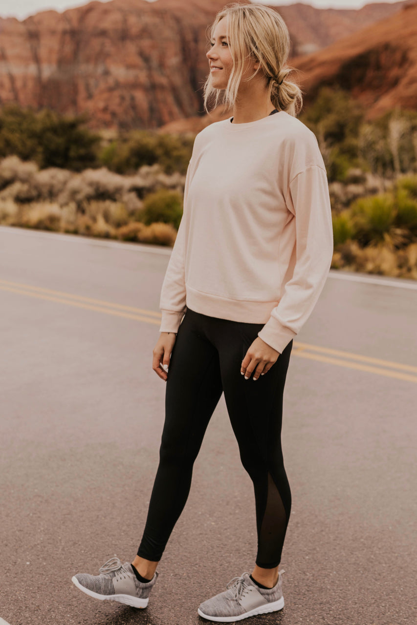Black Leggings with Pockets | ROOLEE