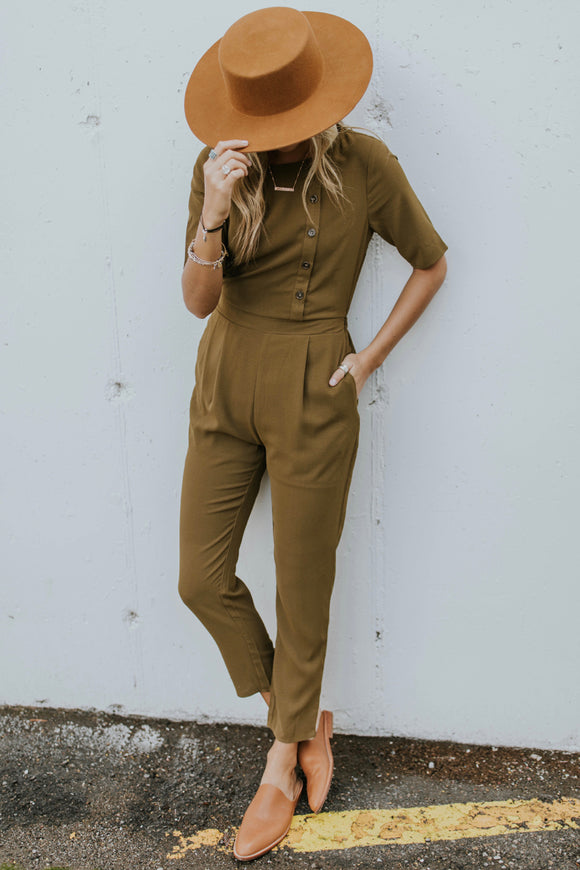Ambrose Button Jumpsuit | ROOLEE Jumpsuits