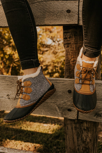Women's Waterproof Short Boots | ROOLEE