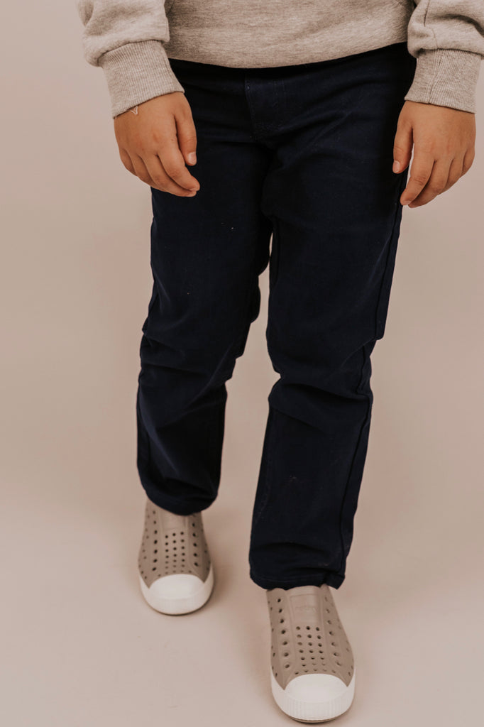 Navy Pants For Boys | ROOLEE