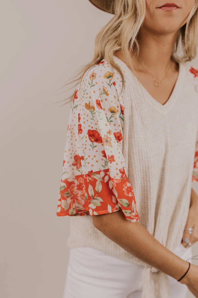 Floral Top Outfit | ROOLEE