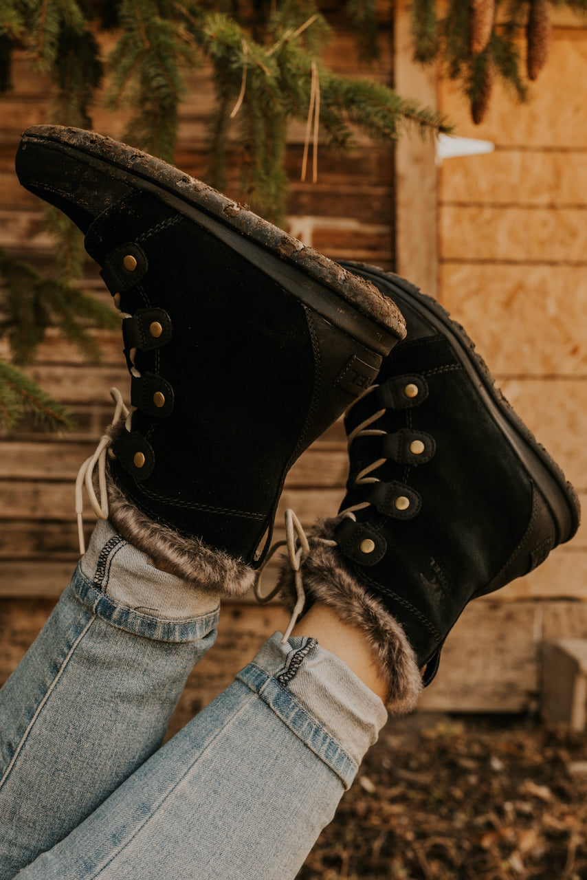 Fur Lined Waterproof Boots | ROOLEE