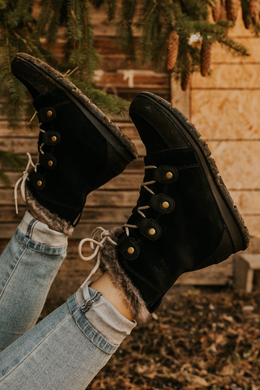 Lace Up Waterproof Boots | ROOLEE
